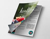 """CoMo Living"" Advertorial Layout Design"