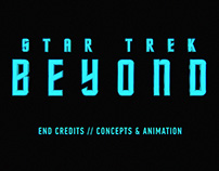 Star Trek Beyond / End Credits / Animation Concepts