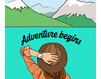Illustrations_ Adventure in the wild