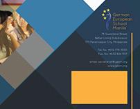 GESM folder & brochure design