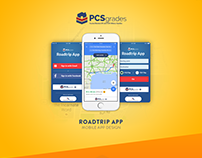 PCSgrades Roadtrip Mobile App Design