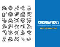 30 Free Coronavirus Icons Collection