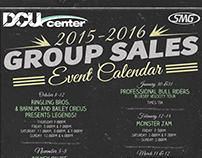 2015-2016 Group Sales Event Calendar