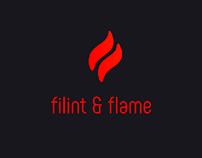 """Filint&Flame""Logo Concept"