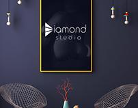 Diamond studio logo