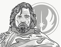 The Last Jedi : Luke Skywalker