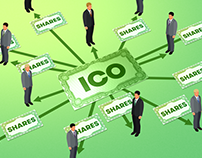 Initial Coin Offering Infographics