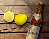 Königsburg Beer label design