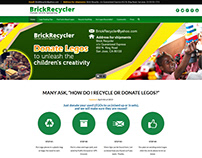 BrickRecycler Donate Legos ~ Webfolio