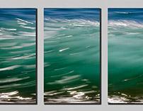 Ocean Impression Triptychs