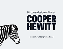 Cooper Hewitt Online Collection Campaign