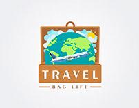Logo Travel Bag Life | Por Sebastian Marín®