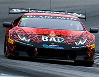 BAD Lambo Racing Livery Design