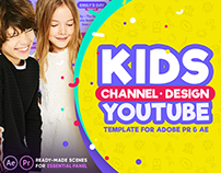 Kids YouTube Channel Design | After Effects & Premiere