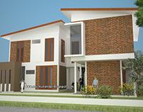 Arsitektur Rumah Unfinished di Nusadua Bali