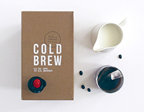 Darlo Coffee Cold Brew Packaging & Photography