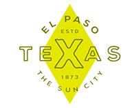 TeXas - El Paso Badge