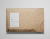 Envelope Package Mockup