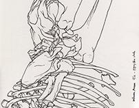 Some recent sketchbook drawings