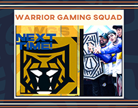 Warriors Gaming Squad Rebrand