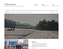 TDM drewno - website for manufacturer of wood terraces