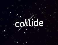 Collide - Exhibition branding