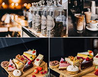 Food Photography - Cakes and Coffee 2017