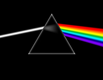 The Art Remake of Dark Side of the Moon