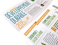 Journal Développement Durable Conforama 2015