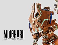 Munny Customizado / Mwahari