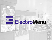 ElectroMenu Visual Identity Development
