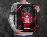 Cartel Felicitación Personal Feria de Albacete 2018