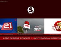 TV CHANNEL LOGO DESIGN of SADEK AHMED