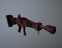 Stylized Assault Rifle