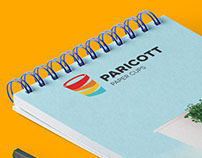 Paricott Paper Cups   Diary Cover Page Design