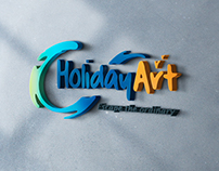 Brand Identity for Holiday Art.