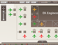 Flights Monitoring Application for Emirates Engineering