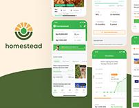 Homestead - Agricultural Investment Platform