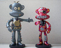 Year of the Monkey Custom Art Toys