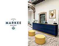 Branding & Interior Design - Hotel Markee