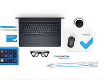 ITMAGINATION I Rebranding - Logo, CI, Office