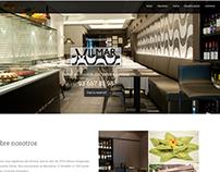Web Restaurante Vilmar