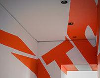YTU Art & Design Anamorphic Typography