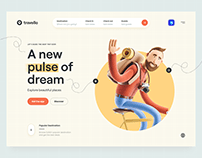 Travello – Travel Landing Page