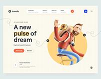Travello – Travel Landing Page
