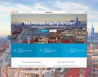 PEK - Website layout