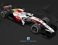 Honda F1 Racing Livery Concept