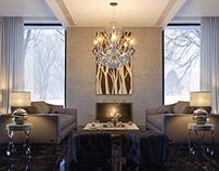 Living room - на конкурс от «Margraf S.p.a.»