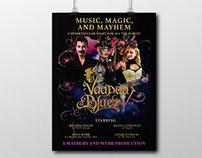 Voodoo Bluez Show Poster