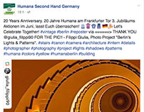 "Featured by ""Humana Second Hand Germany"""